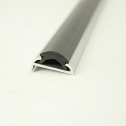 Kantenschutzprofil 0,5-1,5mm m. Top-Dichtung.
