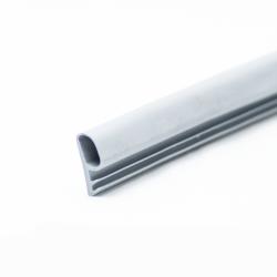 Füllerprofil PVC 10mm Chrom