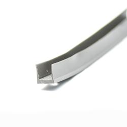 35x35mm M8 Rohreinsatz mit Metallgewinde