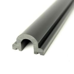 Indlægsliste PVC1066 Sort