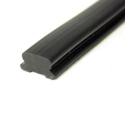 Indlægsliste PVC737 Sort