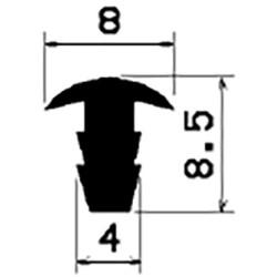 T-Profil 2,5mm