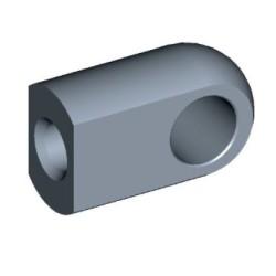 Auge Ø10,1mm Stahl