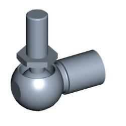 Kugelgelenk komplett Ø13mm Stahl