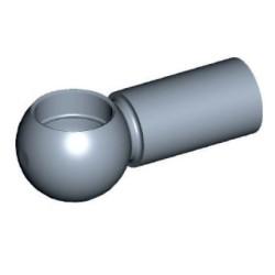 Kugelkopf für Ø10mm Stahl