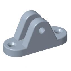 Augenhalterung Ø6mm Stahl