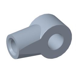 Auge Ø8,2mm Stahl