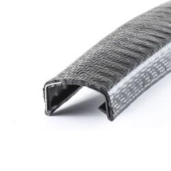 Kantenschutzprofil 20-23mm Schwarz
