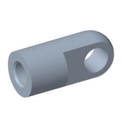 Auge Ø8,1mm Stahl