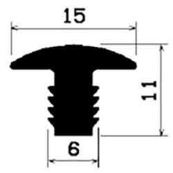 T-Profil 5mm