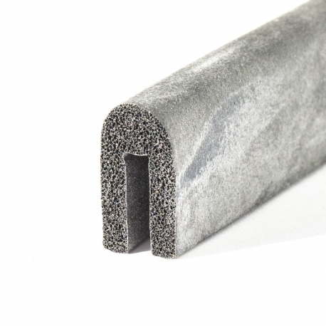 2mm U-Profil Moosgummi