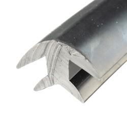 6mm H-Profil Schräg
