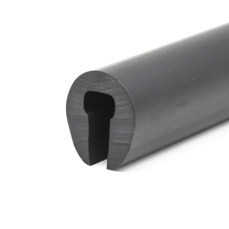 Scheuerleiste 28x25mm schwarz