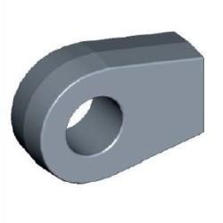 Auge Ø8,5mm Stahl