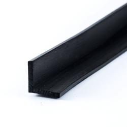 Gummikanten Schwarz 40mm 1000x250mm