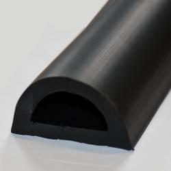 Gummimatte, 3mm runde Flachnoppen  1400mm