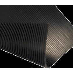 Einlageleiste in Schwarz für Aluminium Fenster