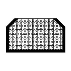 Einlageprofil PVC1062 Schwarz