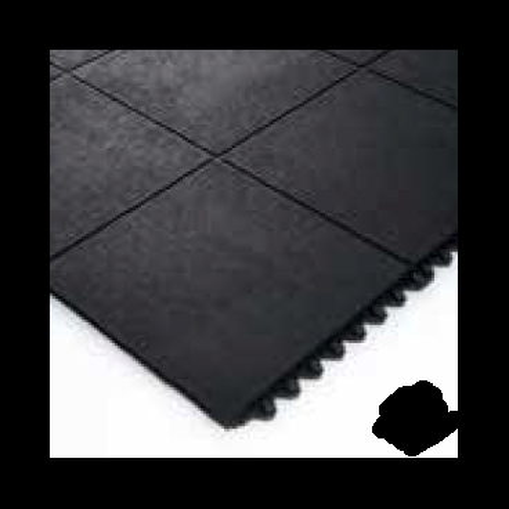 3x1400mm Premium Graue Riffelmuster Gummimatte